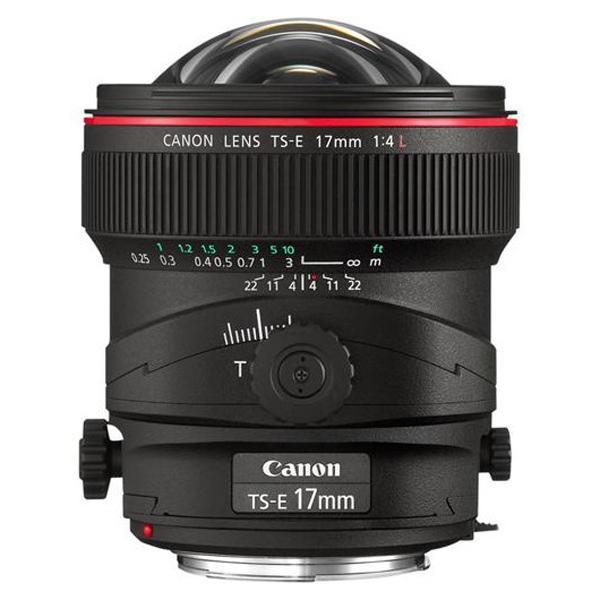 Canon Objetivo TS-E  17mm f4