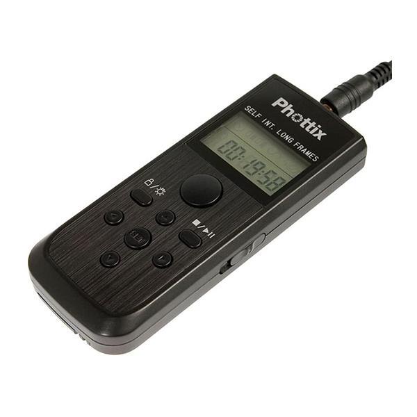 Phottix Temporizador con cable Nikos C8 EOS 5-7-1