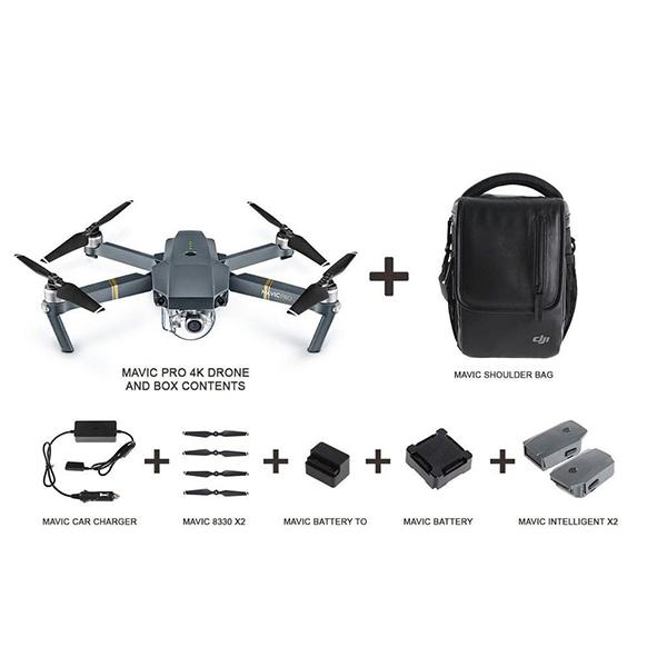 DJI Mavic PRO Platinum Fly More Combo -