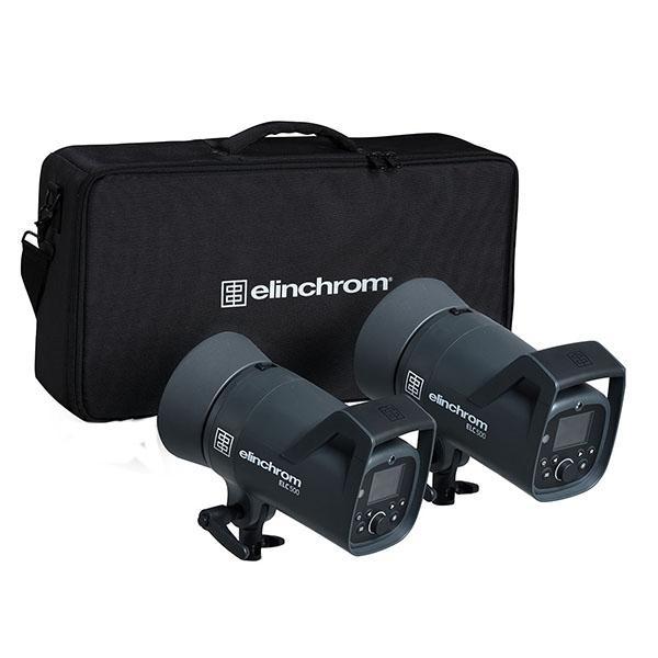 Elinchrom Kit 2x ELC 500 Compact + Accesorios