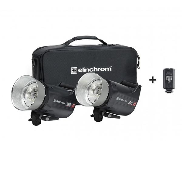 Elinchrom Kit 2 ELC Pro HD1000, trasmisor y maleta