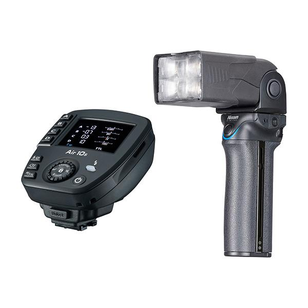 Nissin Flash MG10 + Air 10s para Fuji -
