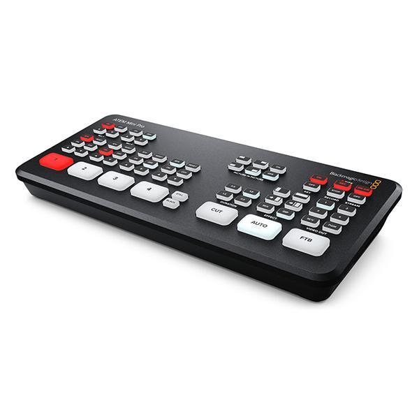 BlackMagic Atem Mini Pro Mezclador 4 HDMI Grabador Streaming