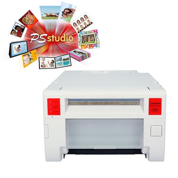 Mitsubishi Impresora CP-D80DW-S + PSStudio