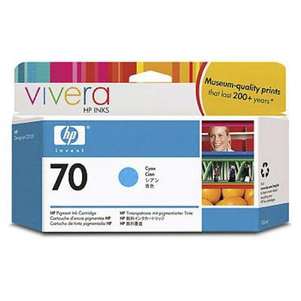 HP Tinta 70 C9452A Cian 130ml Z2100