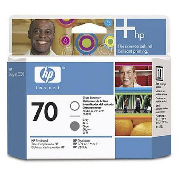 HP Cabezal 70 C9410A Optimizador Brillo-Gris
