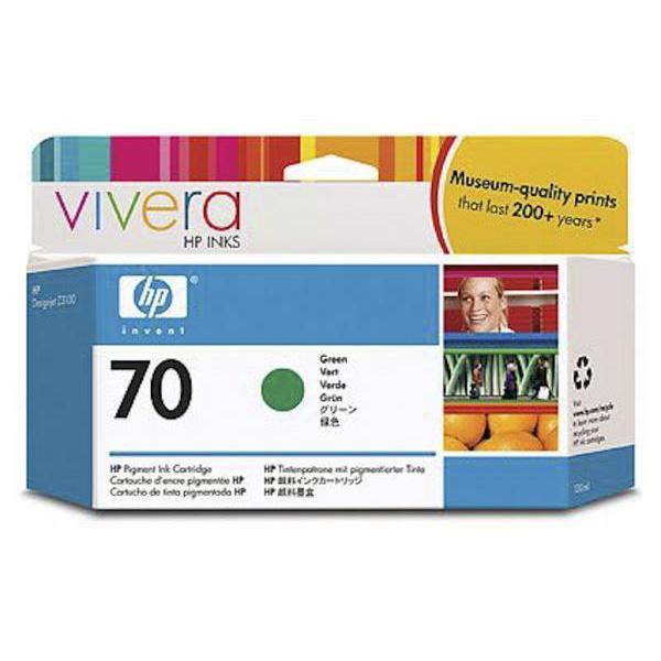 HP Tinta 70 C9457A Verde 130ml Z3100/3200