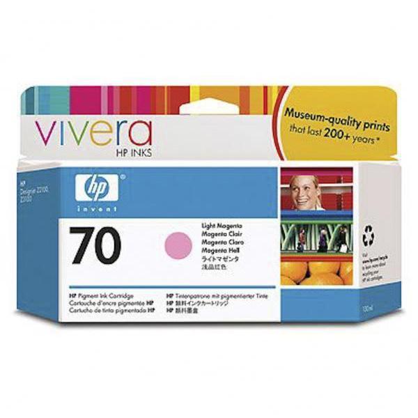 HP Tinta 70 C9455A Magenta Claro130ml Z2100/3100/3200