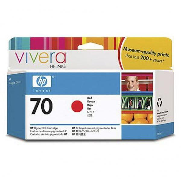 HP Tinta 70 C9456A Rojo 130ml Z3100