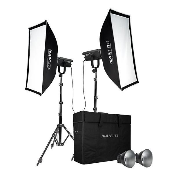 Nanlite Kit 2 Foco FS150 Daylight LED Spot Light