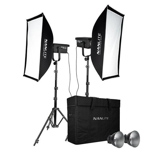 Nanlite Kit 2 Foco FS300 Daylight LED Spot Light