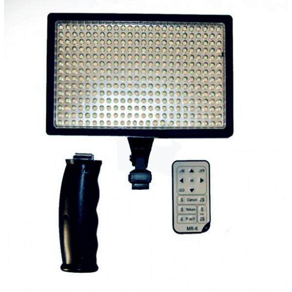 Swiss-Pro Antorcha LED IS-L336A (336 LEDs) c/Batería y maleta