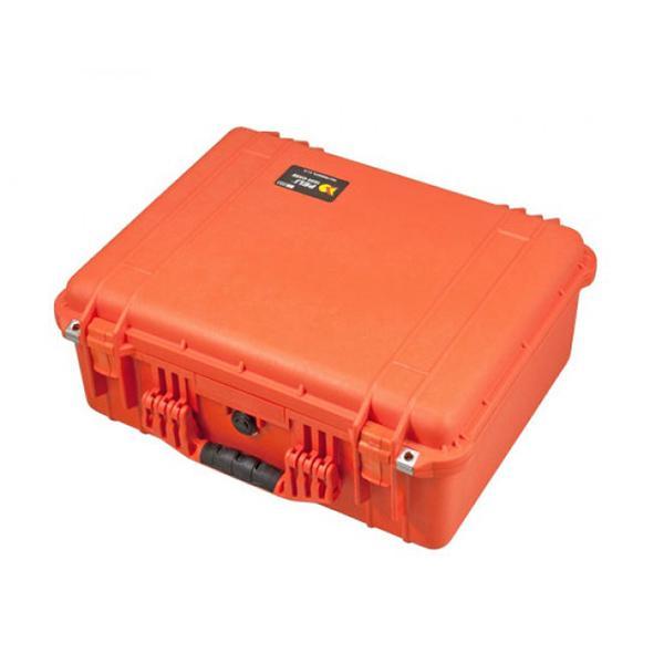 Peli Maleta 1550 Foam Externa 52.4x42,5x20,6cm Naranja -