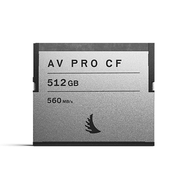 Angelbird CFast AV PRO 512GB  R:550MB/s W:490MB/s