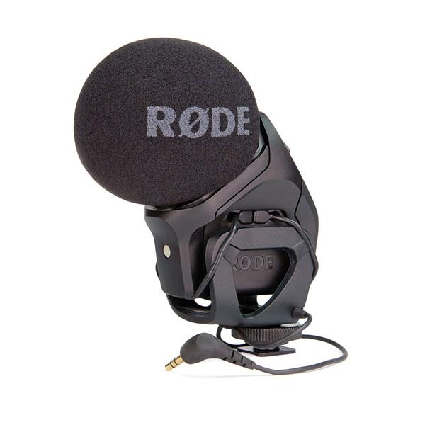 Rode Videomic Pro Stereo dos Cápsulas XY 9V