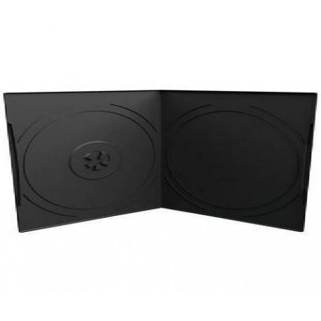 Estuche CD / DVD 13x14.5mm Negro