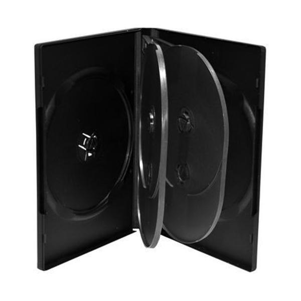 Estuche CD / DVD para 6 unidades pack de 5