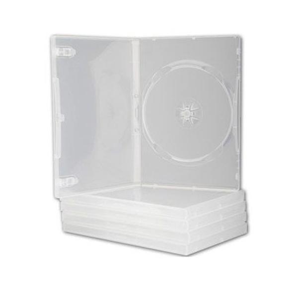 Estuche CD / DVD 14mm Natural Doble Auto