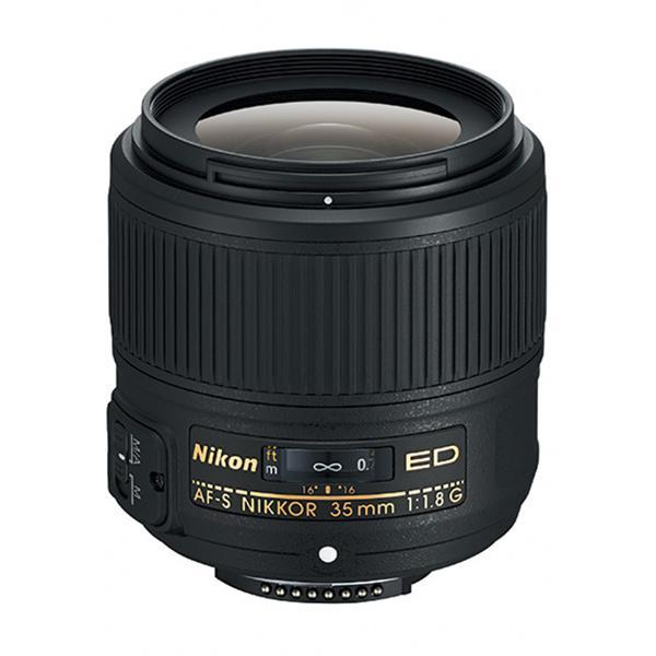 Nikon Objetivo AF-S  35mm f1.8 G ED