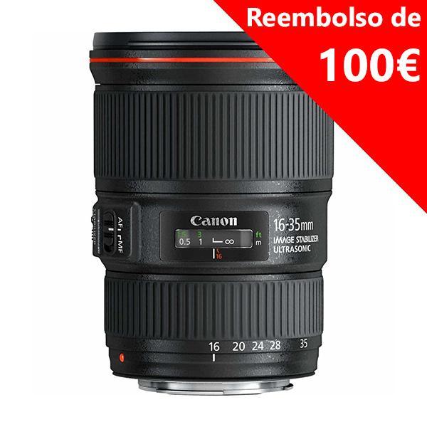 Canon Objetivo EF Zoom  16-35mm f4.0L IS USM