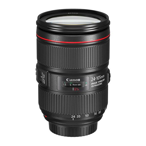 Canon Objetivo EF Zoom  24-105mm f4L II IS USM