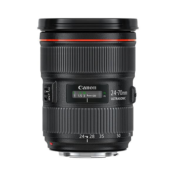 Canon Objetivo EF Zoom  24-70mm f2.8 L II USM