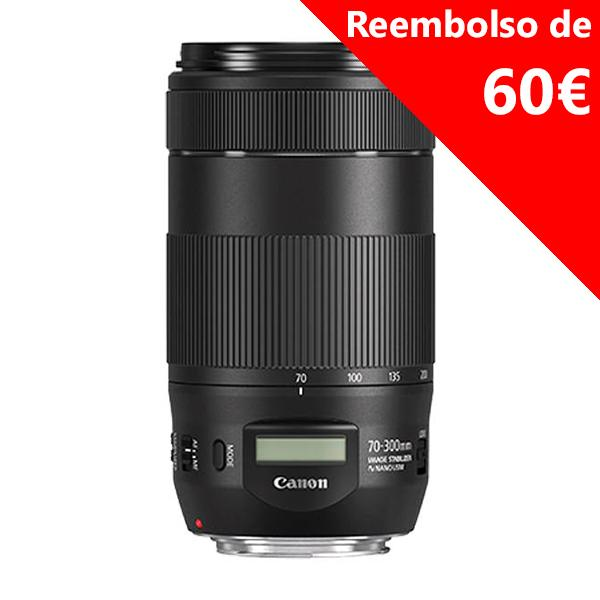 Canon Objetivo EF Zoom  70-300mm f4/5.6 IS II NANO