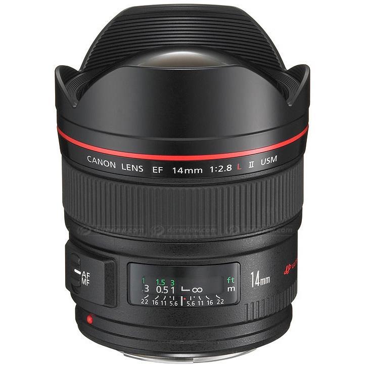 Canon Objetivo EF  14mm f2.8 L II USM