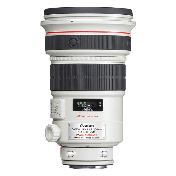 Canon Objetivo EF 200mm f2.0 L IS USM