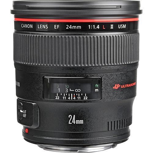 Canon Objetivo EF  24mm f1.4 L II USM