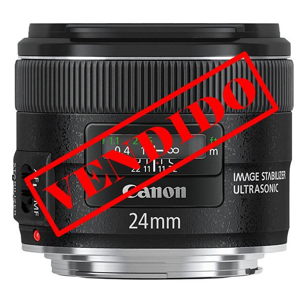 Canon Objetivo EF  24mm f2.8 IS USM