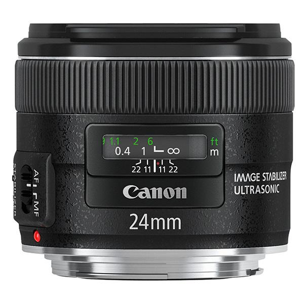 Canon Objetivo EF  24mm f2.8 IS USM