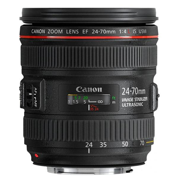 Canon Objetivo EF Zoom  24-70mm f4.0 L IS USM