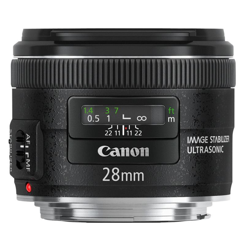 Canon Objetivo EF  28mm f2.8 IS USM