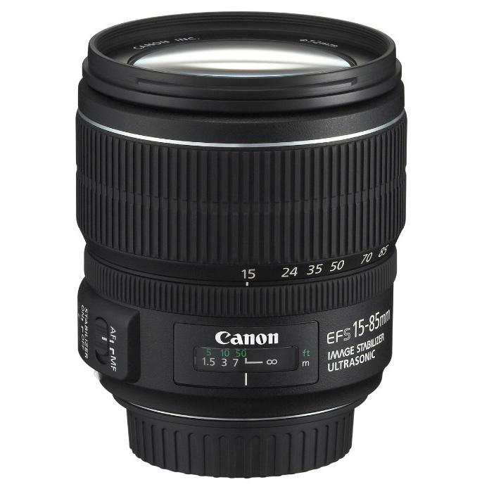 Canon Objetivo EF-S Zoom  15-85mm f3.5-5.6 IS