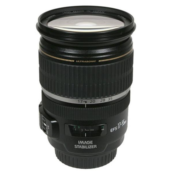 Canon Objetivo EF-S Zoom  17-55mm f2.8 IS USM