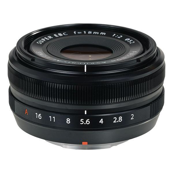 Fuji Objetivo XF  18mm f2 R