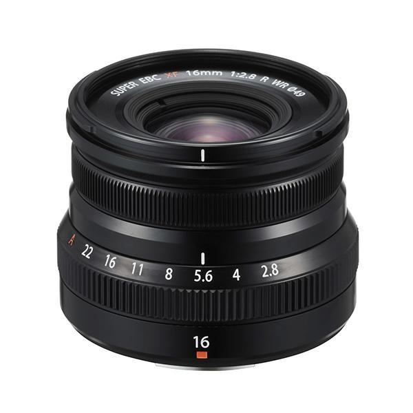Fuji Objetivo XF 16mm f2.8 R WR Negro -