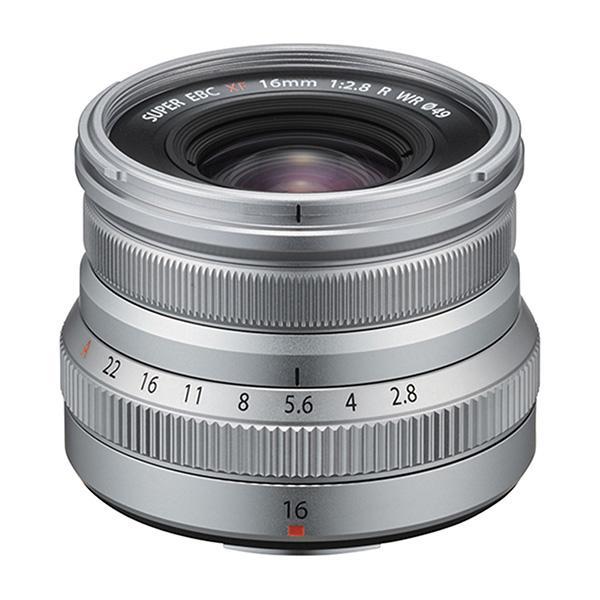 Fuji Objetivo XF 16mm f2.8 R WR Plata -