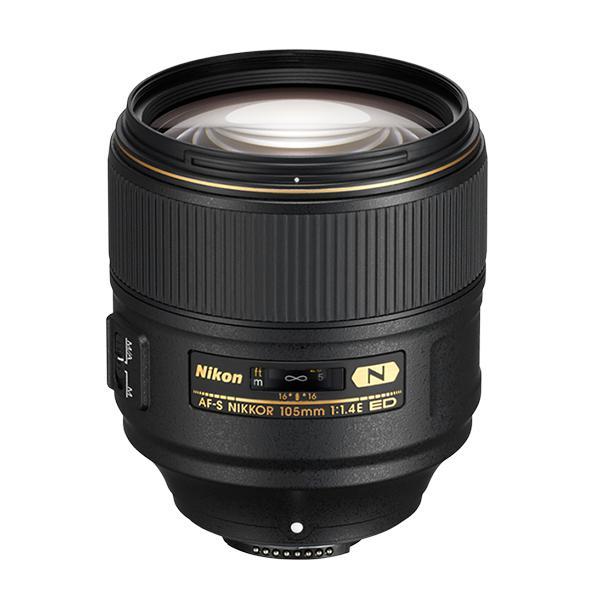 Nikon Objetivo AF-S 105mm f1.4 ED