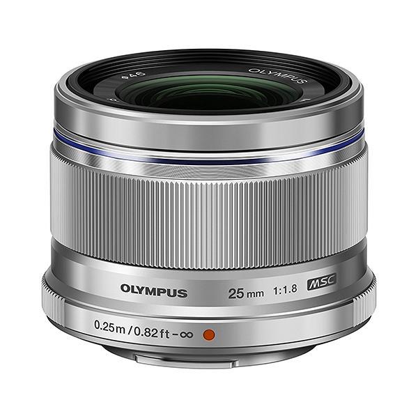 Olympus Objetivo M.Zuiko 25mm f1.8 plata -