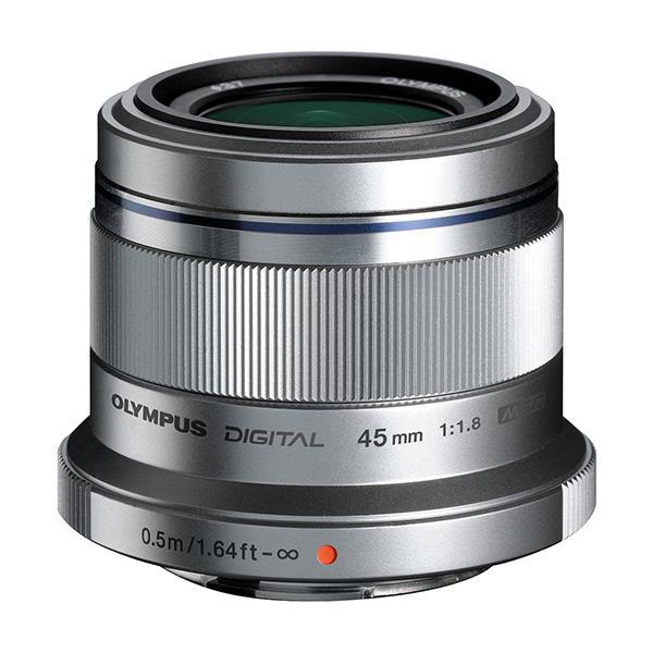 Olympus Objetivo M.Zuiko 45mm f1.8 Silver -