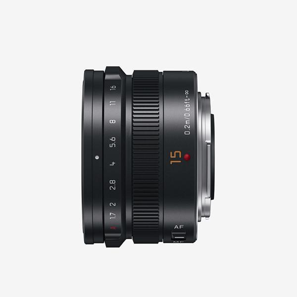 Panasonic Objetivo H-X015 15mm f1.7 Leica Summilux -