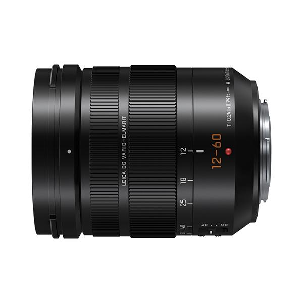 Panasonic Objetivo H-ES12060 - 12-60mm f2.8 /4 -      Longitud focal 12-60 mm / 24-120 mm (equivalente a cámara de 35 mm)     Rango de apertura F2.8 (angular) - F4.0 (teleobjetivo)     Tamaño del filtro φ62mm / 2,44