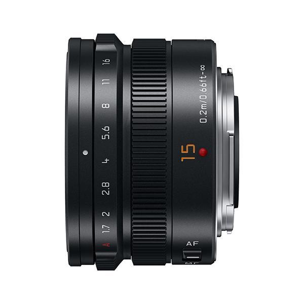 Panasonic Objetivo H-X015 15mm f1.7 Leica Summilux - ¡Ahora 50€ de Reembolso hasta el 15 de enero de 2018!      Longitud focal: LEICA 15 mm (30 mm equivalente en cámara de 35 mm)     Apertura: f1,7     Tamaño de filtro: φ46 mm