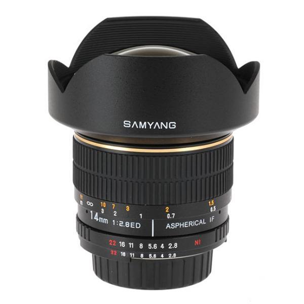 Samyang Objetivo Canon  14mm f2.8