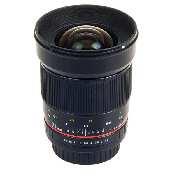 Samyang Objetivo Canon  24mm f1.4 ED AS UMC