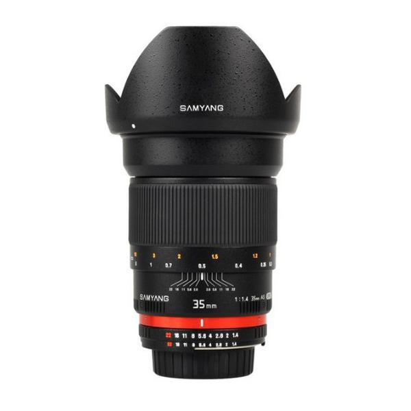 Samyang Objetivo Nikon AE  35mm f1.4