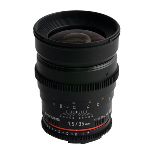 Samyang Objetivo Nikon  35mm T1.5 VDSLR