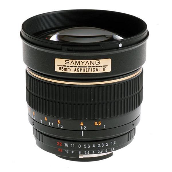 Samyang Objetivo Nikon AE  85mm f1.4